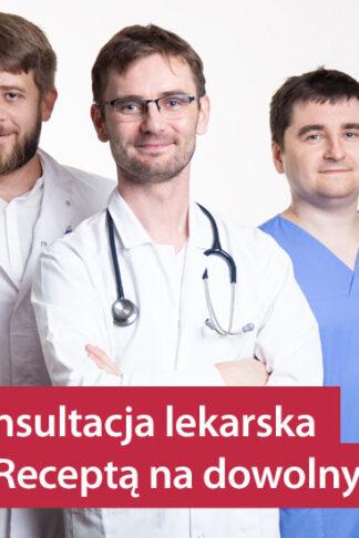 erecepta online konsultacja lekarska z receptą na dowolny lek